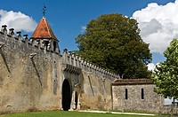 Ch&#226;teau de Garde &#201;p&#233;e in the region of Jarnac, Charente departement, France