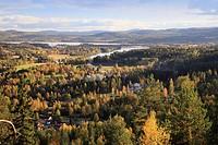 Järvsö Ljusnan Hälsingland Sweden.