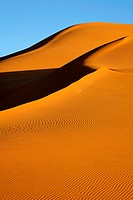 Sand dunes of the Sahara Desert, Libya