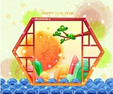 Chinese New Year Greeting Card (thumbnail)