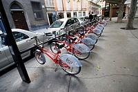 Bicycle sharing systems in Zaragoza