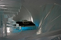 Sweden, Jukkasjarvi, the Ice Hotel                                                                                                                    ...