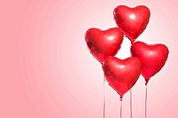 Heart_shaped balloons