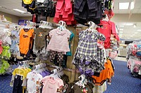 Florida, Miami, Aventura Mall, shopping, retail display, for sale, department store, Sears, children's clothing, fashion
