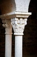 Saint Pere Rodes monastery at Girona in Catalonia Spain