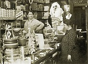 DIG DEU, Germany, Berlin, around 1932, drugstore, soap business, reform house, pop_and_mom shop, aunt Emma shop, small, small, business, specialist sh...