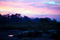 Sunrise over Sabi river, Kruger National Park, South Africa