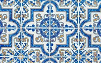 Portuguese glazed tiles 233