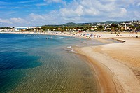 Coma Ruga beach  El Vendrell, Catalonia, Spain