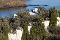 Spain. House of surrealist painter Salvador Dali and his wife Gala in Port Lligat