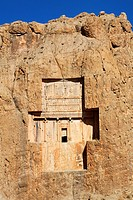 The tomb of Xerxes, Naqsh-i Rustam, Iran