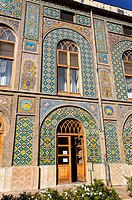 The Golestan Palace in Tehran, Iran
