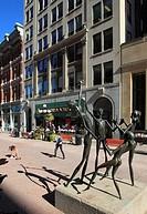 Canada, Ontario, Ottawa, Sparks Street Mall.