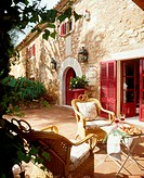 Mediterranean house with terrace