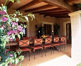 Loggia of a country house