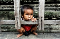 A cute smiling kid, Siem Reap, Cambodia
