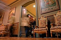 living room, Moja Palace, baroque palace, Barcelona,