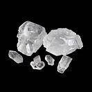 Sugar crystals. Sugar is a sweet carbohydrate