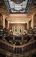 old library, Porto, Portugal