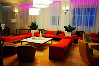 Clevelander Hotel Lobby, Miami Beach
