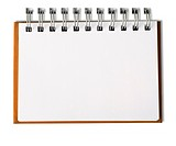 Horizontal Blank Note Book