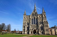 Salisbury Cathedral, Salisbury, Wiltshire, England