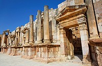 The South Theatre of Gerasa, Jerash, Jordan