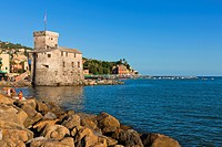 Castello di Rapallo, Castle-on-the-Sea, Rapallo, Province of Genoa, Liguria, Italy