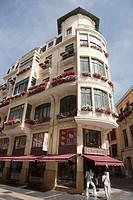 Spain  Castilla y Leon  Leon  Ancha street.