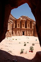 El Deir or Monastery, Petra, Jordan