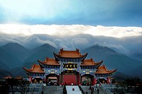 Chong Sheng Temple in Dali, Yunnan Province, China
