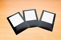Designer concept _ blank photo frames for your photos