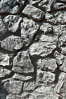 Gray grunge stones