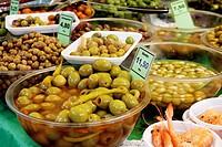 Olives, Barcelona, Catalonia, Spain