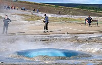 Geysir Hot Springs, South Iceland, Iceland