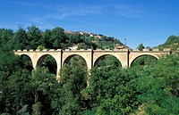 Italy, Le Marche. Bridge