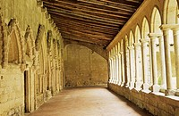 Cloister of St  Emilion Church  Dordorge valley  Aquitaine  France