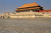 Hall of Supreme Harmony in the Grand Outer Court in the Forbidden City Beijing