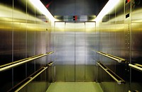 Elevator in the hospital