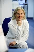 Portrait of a medical assistant portrait of a doctor´s assistant