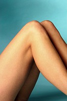 Legs of a young adult woman