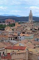 Collegiate Church of Sant Feliu, Girona, Catalonia, Spain