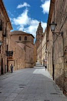 Old town, Salamanca, Castile and Leon, Spain