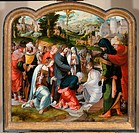 The Resurrection of Lazarus. Leyden, Aertgen Claesz. , van (c. 1498-c. 1564). Oil on wood. Early Netherlandish Art. 1535. Rijksmuseum, Amsterdam. 75,5...