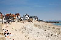 Lamor Plage beach, Morbihan, Brittany, France