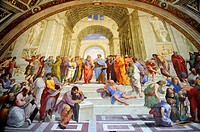 Rome, Italy  Vatican Museums, the Raphael's rooms