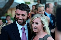 !Padraig Harrington with Caroline Harrington, Monaco Grand Prix, Monte Carlo