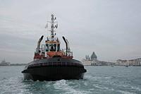 beautiful scenery in Venice on water