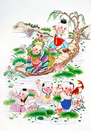 Chinese traditional New Year picture