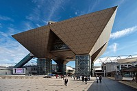 Big Sight Building, Odaiba district, Tokyo, Japan